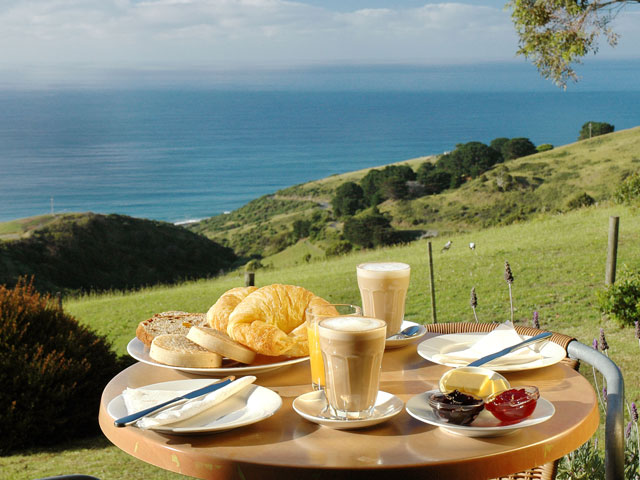 A Room with A View Wongarra  Accommodation - A Little ThingsBreakfast Sample